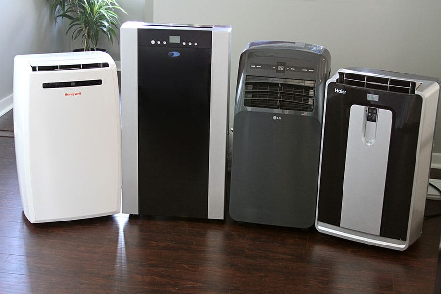 Dehumidifier and air purifiers in the same room